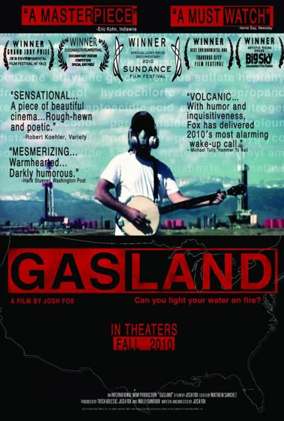 GASLAND screening tonight