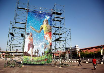 Tommorrow's Joy Bottletop Mosaic - Photo: Such Initiative