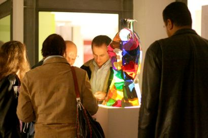Guests take a look at 'Science Fiction' by Lucio Lupacchini