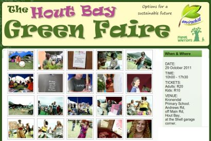 Hout Bay Green Faire - Sat 29 Oct 10am