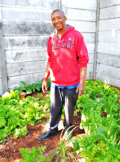 Michael Valentine- project manager of new exciting gardening and worming project